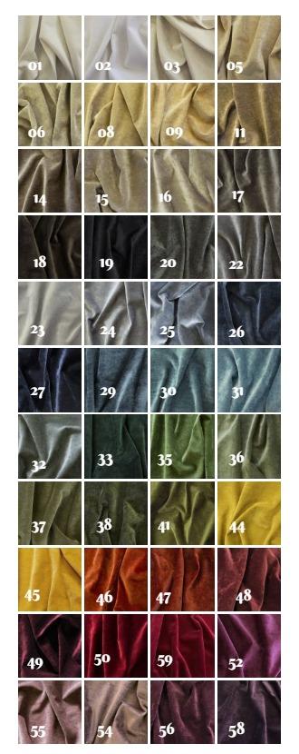 44 vackra sammetsnyanser från Lauritzons
