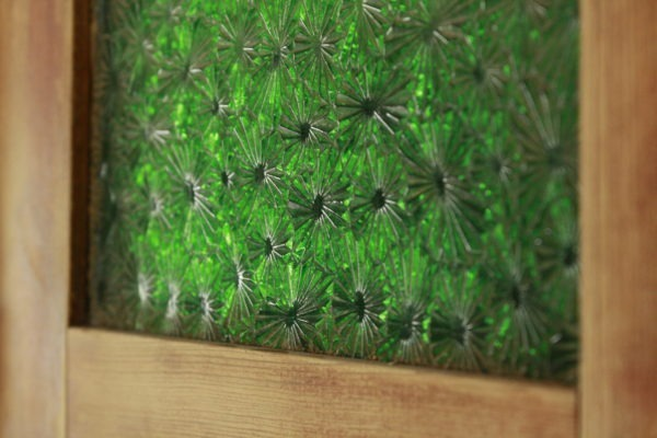 Detaljbild av glas