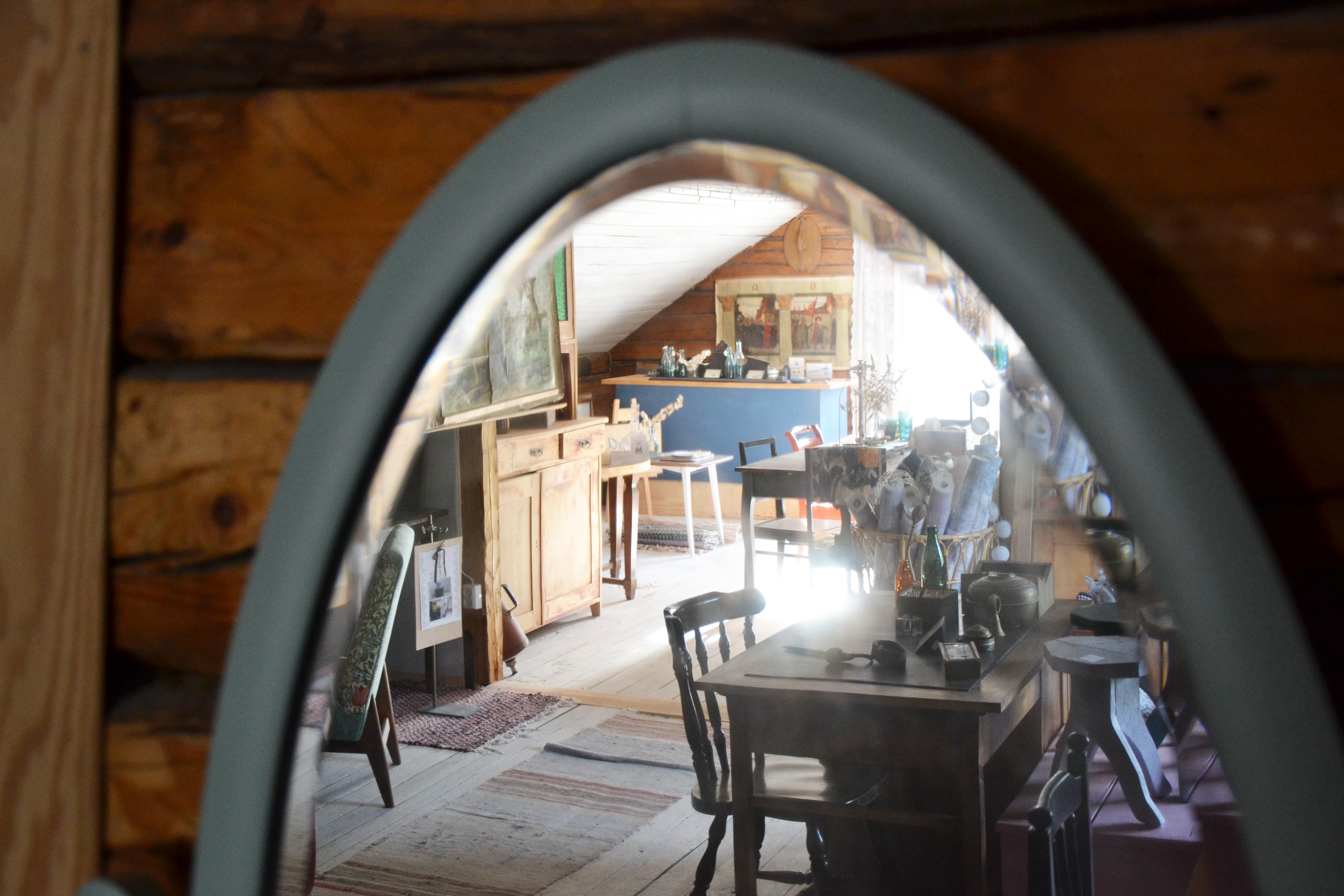vintage vind vintti gammal spegel vanha peili butik putiikki